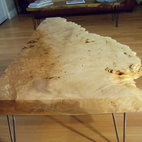 Big Leaf Maple Burl Coffee Table -