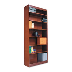 Alera - Alera BCS78436MO Square Corner Wood Veneer Bookcase - Medium Oak Multicolor - AL - Shop for Bookcases from Hayneedle.com! About AleraWith the goal of meeting the needs of all offices -- big or small casual or serious -- Alera offers an excellent line of furnishings that you'll love to see Monday through Friday. Alera is committed to quality innovative design precision styling and premium ergonomics ensuring consistent satisfaction.