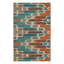 """Kaleen - Kaleen Global Inspirations GLB02 (Multi) 5' x 7'9"""" Rug - This Hand Tufted rug would make a great addition to any room in the house. The plush feel and durability of this rug will make it a must for your home. Free Shipping - Quick Delivery - Satisfaction Guaranteed"""