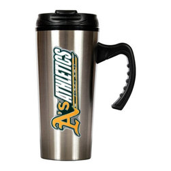 Great American Products - Great American MLB 16 oz. Stainless Steel Travel Mug Multicolor - TMS2101-14 - Shop for Travel Mugs and Tumblers from Hayneedle.com! About Great American ProductsWith beginnings as a belt buckle maker in Texas Great American products has become the leader in licensed metal emblems and the products that they adorn. With licenses with every major sports league Great American products a wide range of unique products like drinkware coolers and kitchen accessories for the dedicated fan.