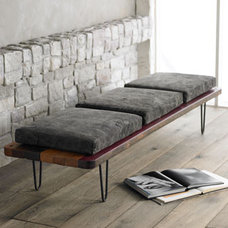 Contemporary Benches by Horchow