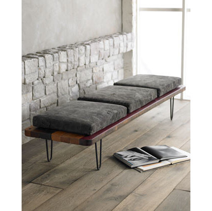 Contemporary Indoor Benches by Horchow
