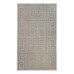 nuLOOM - nuLOOM Indoor/ Outdoor Greek Key Porch Rug, 5'x8' - Material: 100% Polypropylene
