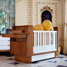 Modern Nursery by Lisa Riva Art + Interiors
