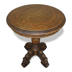 Side & Sofa & Accent Tables - Each furnishing is handcrafted, hand painted, and available in a plethora of finishes. We can also upholster it in your fabric, customize the dimensions, paint a specific pattern, change the hardware, and more!