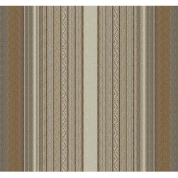 Blue Mesa Stripe in Desert - Look closely for all the detail in the fabric Blue Mesa Stripe in Desert.