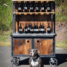 Bar Carts by Urban Wood & Steel llc
