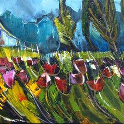 Nancy Lucas Artworks - 'Tulip Fields'