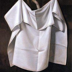 "Raphaelle Peale Venus Rising from the Sea - A Deception   Print - 16"" x 20"" Raphaelle Peale Venus Rising from the Sea - A Deception premium archival print reproduced to meet museum quality standards. Our museum quality archival prints are produced using high-precision print technology for a more accurate reproduction printed on high quality, heavyweight matte presentation paper with fade-resistant, archival inks. Our progressive business model allows us to offer works of art to you at the best wholesale pricing, significantly less than art gallery prices, affordable to all. This line of artwork is produced with extra white border space (if you choose to have it framed, for your framer to work with to frame properly or utilize a larger mat and/or frame).  We present a comprehensive collection of exceptional art reproductions byRaphaelle Peale."
