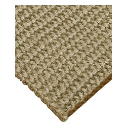 """Natural Area Rugs - """"Empire"""" Sisal Rug, 100% Natural Fiber - All natural sisal rug handcrafted by Artisan rug maker. Naturally durable and anti-static, this earth friendly rug is great for high traffic areas. Enjoy this self bound sisal rug with non-slip latex backing along with its stylish and contemporary look. Variations are part of the natural beauty of natural fiber. We recommend a rug pad as it will protect not only your rug but your hardwood floor as well."""