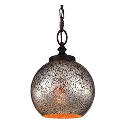 Murray Feiss - Murray Feiss P1318ORB Tabby 1 Bulb Oil Rubbed Bronze Pendant - Murray Feiss P1318ORB Tabby 1 Bulb Oil Rubbed Bronze Pendant