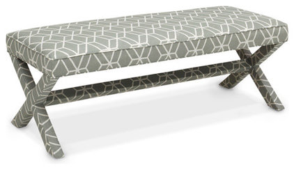 Contemporary Bedroom Benches by Jonathan Adler