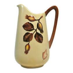 Lavish Shoestring - Consigned Hazelnut Water or Milk Jug by Carlton Ware Australian Design, Vintage - This is a vintage one-of-a-kind item.