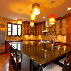 Contemporary Kitchen by McKeithan Design Studio, LLC