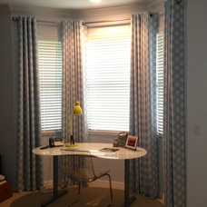 Contemporary Curtains by Curtain Pros