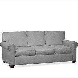 """Buchanan Upholstered Sleeper Sofa, Polyester Wrap Cushions, Washed Linen/Cotton - Merging versatile style with exceptional comfort, our Buchanan Sleeper Sofa is simply the best value you can find. 87"""" w x 71"""" d x 39.5"""" d x 36.5"""" h {{link path='pages/popups/PB-FG-Buchanan-3.html' class='popup' width='720' height='800'}}View the dimension diagram for more information{{/link}}. {{link path='pages/popups/PB-FG-Buchanan-5.html' class='popup' width='720' height='800'}}The fit & measuring guide should be read prior to placing your order{{/link}}. Polyester-wrapped cushions have a neat and tailored look. Proudly made in America, {{link path='/stylehouse/videos/videos/pbq_v36_rel.html?cm_sp=Video_PIP-_-PBQUALITY-_-SUTTER_STREET' class='popup' width='950' height='300'}}view video{{/link}}. For shipping and return information, click on the shipping info tab. When making your selection, see the Special Order fabrics below. {{link path='pages/popups/PB-FG-Buchanan-6.html' class='popup' width='720' height='800'}} Additional fabrics not shown below can be seen here{{/link}}. Please call 1.888.779.5176 to place your order for these additional fabrics."""