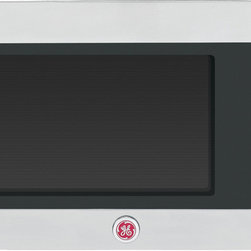 None - GE Cafe Series 1.5 cu. ft. Stainless Steel Countertop Microwave Oven - The GE Cafe Series 1.5 cu. ft. Countertop Microwave Oven provides style and function with a stainless steel finish and 1,000 watt cooking power.