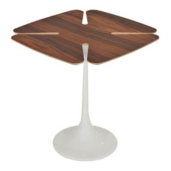 Elisa Side Table, Tan Walnut