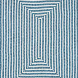 """Loloi Rugs - Loloi Rugs In/Out Collection - Aqua, 3'-6"""" x 5'-6"""" - Hand-braided in China of 100% polypropylene, the In/Out collection offers a fun and simplistic look. This easy-to-place collection works nicely in an interior space or outdoors, and is available in an array of both neutral and vibrant colors."""