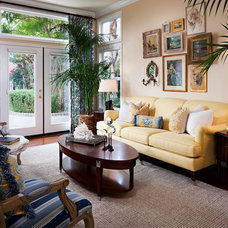 Contemporary Living Room by Style On a Shoestring