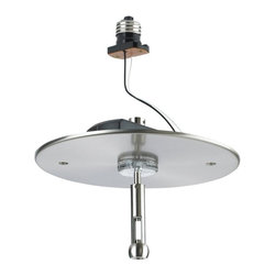 Seagull - Seagull Recessed Lighting Recessed Light Housing in Brushed Stainless - Shown in picture: CLOSEOUT SPECIAL - 95350-98 RTx Recessed Housing Power Feed Adapter in Brushed Stainless finish