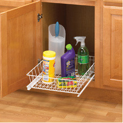 Cabinet Accessories - Multi use base pull out.