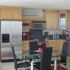 Contemporary Kitchen Cabinets by Belle Choices