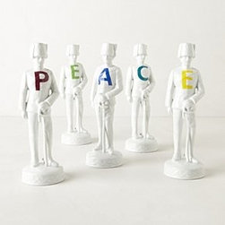 Anthropologie - March-Of-Peace Soldiers - *By Reichenbach