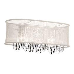 Dainolite - Dainolite 85324W-46-117 Bohemian 4 Light Vanity Light - Features: