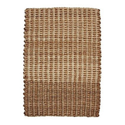 Lamps Plus - Sumatra Collection Haryana 8'x10' Area Rug - This robust area rug collection promotes the finest, most desirable qualities of a carefully selected group of esteemed natural fibers. The exciting combination allows the creativity and skill of the artisan weavers to really shine. Abaca, with its lustrous strands, joins the extraordinary durability of jute and hemp in this enthralling original design. From the Sumatra Collection. Jute/abaca/hemp blend. Hand-made in India. Rug pad recommended (sold separately).