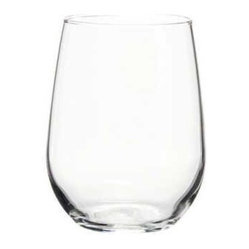 Libbey Glass - WHI WINE GLASS 17OZ STEMLESS 12 - CAT: Smallwares & Equipment Glassware Wine/Champagne Glass