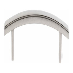 Alno Inc. - Alno Creations Arch 8 Inch Pull Satin Nickel A419-8-Sn - Alno Creations Arch 8 Inch Pull Satin Nickel A419-8-Sn