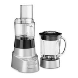 Cuisinart - Cuisinart SmartPower Deluxe Blender and Food Processor - The SmartPower Deluxe Duet Blender and Food Processor is a 2-in-1 that lets you do it all! The blender uses its smart power and sophisticated electronics to mince, whip or chop while the food processor slices, shreds, chops or mixes.