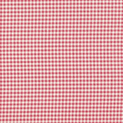 """Close to Custom Linens - 90"""" Tablecloth Gingham Check Faded Rose - A checkered past is thoroughly acceptable in the right company. For example, while this vintage gingham check can easily stand alone, it also makes a pretty, complimentary companion to other traditional patterns you've collected. Mixing and matching the bed, window and table linens just adds to the fun!"""