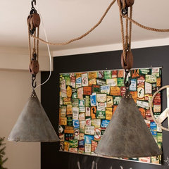 eclectic pendant lighting by PBteen