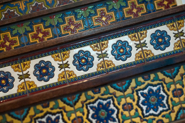 Contemporary Floor Tiles by Gary J Ahern, AIA - Focal Point Design