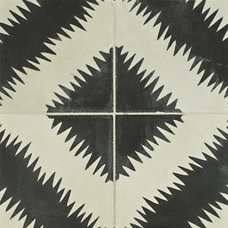 eclectic floor tiles by Rebekah Zaveloff | KitchenLab