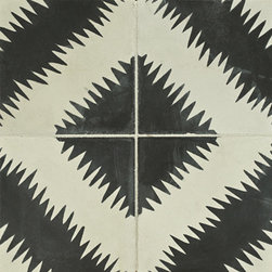 Paccha Concrete Tile - Ann Sacks Tile & Stone - I fell in love with tile forever ago and then I came across and article about the American couple who moved to Morocco and is responsible for this gorgeous product and I fell in love all over again. Stunning.