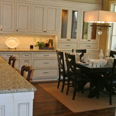 Traditional Kitchen Cabinets by lew sabo