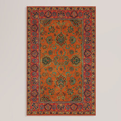 Mandarin Agra Wool Rug - Timeless and classic, this rug can still work in a nice and clean modern space.