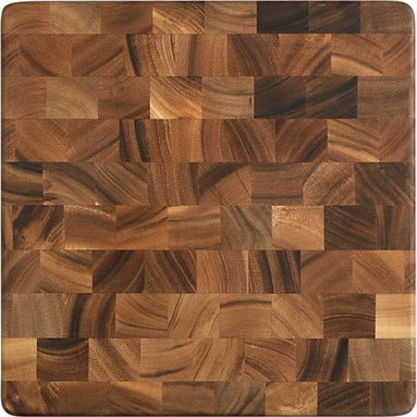 End Grain Chopping Board - I can attest to the long-lived, functional nature of Acacia wood. I have this exact cutting board and have used it for years.