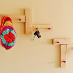 Minimalist Coat Rack Key Rack Clothing Racks by Mod-Rak - Mod-Rak