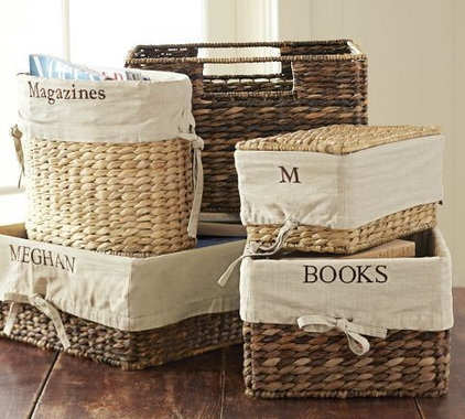 Contemporary Baskets by Pottery Barn