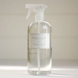 Washed Cotton Linen Water - A feeling of cleanliness involves more senses than just touch and sight. Spray your linens with this beautiful scented water, and it will fill your home with a wonderful smell of freshness.