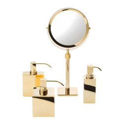 """Decor Walther - Decor Walther SP 15 Cosmetic Mirror - The SP 15 Cosmetic Mirror cosmetic  has been designed and made by Decor Walther.     With the SP 15 provides Decor Walther sumptuous bathrooms front   accessories, which stand out with its high quality finish, the best   materials and harmonious design. SP 15 Cosmetic Mirror cosmetic available in  3-flod/1-flod  magnification, it is suitable  for many applications.   Product Details:  The SP 15 Cosmetic Mirror cosmetic  has been designed and made by Decor Walther.     With the SP 15 provides Decor Walther sumptuous bathrooms front   accessories, which stand out with its high quality finish, the best   materials and harmonious design. SP 15 Cosmetic Mirror cosmetic available in  3-flod/1-flod  magnification, it is suitable  for many applications.   Details:                                      Manufacturer:                                      Decor Walther                                                                  Designer:                                     In House Design                                                                  Made in:                                     Germany                                                                  Dimensions:                                      Diameter: 6.69"""" (17 cm) X Height: 14.96-19.60"""" (38-50 cm)                           Diameter Base: 3.54"""" (9 cm)                                                     Material:                                      Metal"""