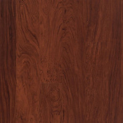 Laminate for Life Lewisville in Auburn Rosewood - The authentic look you want in hardwood and ceramic tile with easy convenience and maintenance makes Laminate for Life™ flooring attractive for your busy lifestyle.