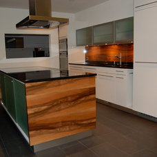 Modern Kitchen Cabinetry by Swiss Touch Construction Ltd