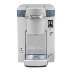 Cuisinart - Cuisinart Keurig Compact Single-Serve Brewing System Silver - Hot Water button lets consumers enjoy instant coffee, soup, tea and hot cocoa.