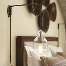 Contemporary Wall Sconces by Pottery Barn