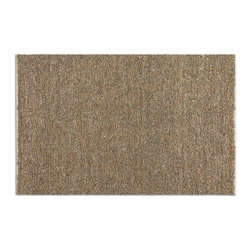 Uttermost - Uttermost Tufara 8 x 10 Rug - Beige 73051-8 - Rescued Beige And Gray Leathers Hand Woven With Natural Jute.